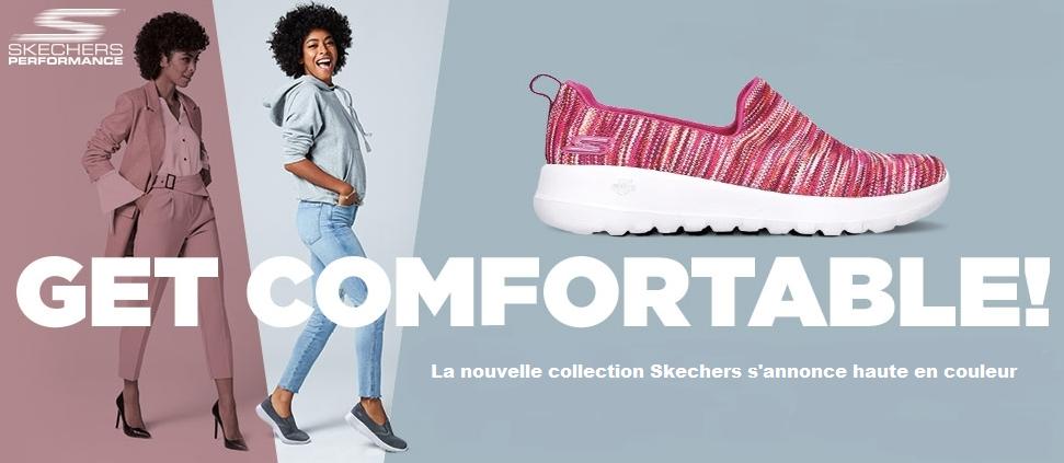 La nouvelle collection Skechers s'annonce haute en couleur